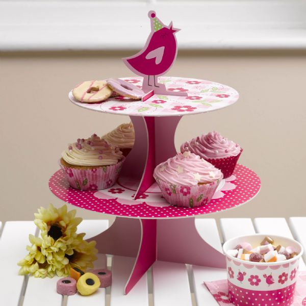 A Little Bird Told Me Cupcake Stand